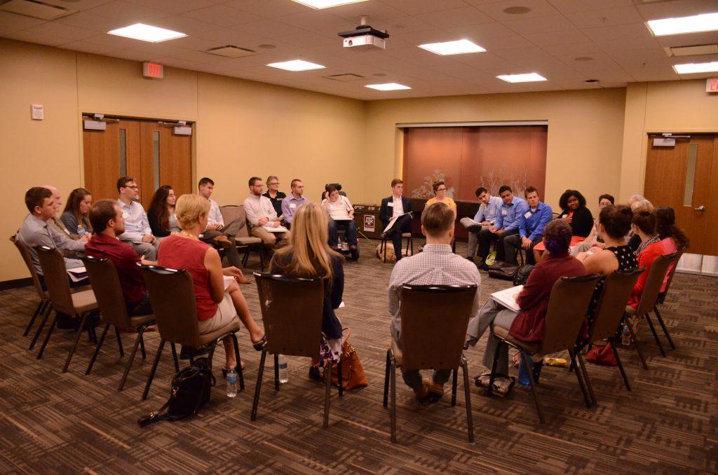 MSC FLC delegates in a focus group